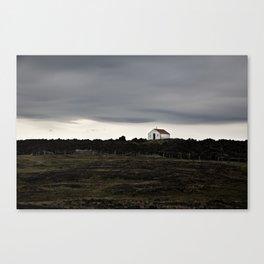 Cabin above Jökulsá á Fjöllum, Iceland Canvas Print