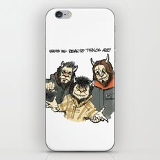 Where The Beastie Things Are iPhone & iPod Skin