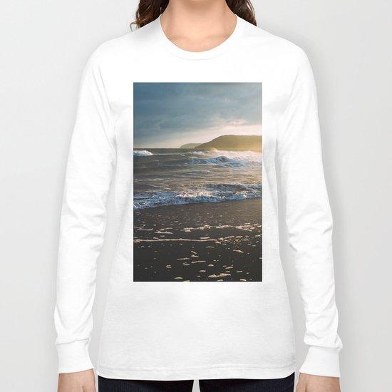 Misty Ocean #sunset Long Sleeve T-shirt