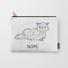 Nope. Carry-All Pouch