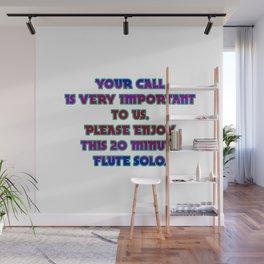 Funny One-Liner Telephone Joke Wall Mural