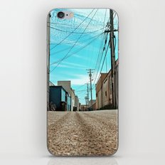 Alley architecture iPhone & iPod Skin
