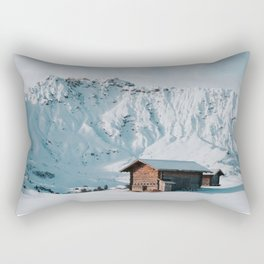 Hello Winter - Landscape and Nature Photography Rectangular Pillow