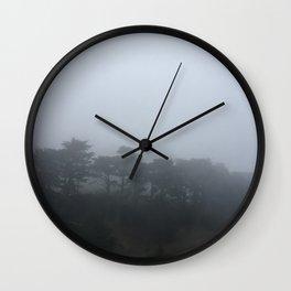 Fog in San Francisco Wall Clock