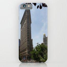 Historic Flatiron Building iPhone Case