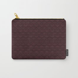 Stamped Art Carry-All Pouch