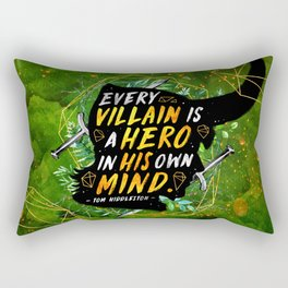 Every villain Rectangular Pillow