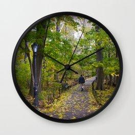 Robert Frost Wall Clock