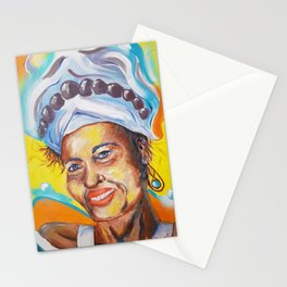 Acai - painting series Stationery Cards
