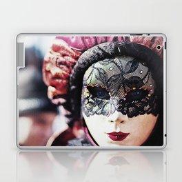 Carnival of Venice - Girl in Mask Laptop & iPad Skin