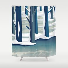 Spring was coming Shower Curtain