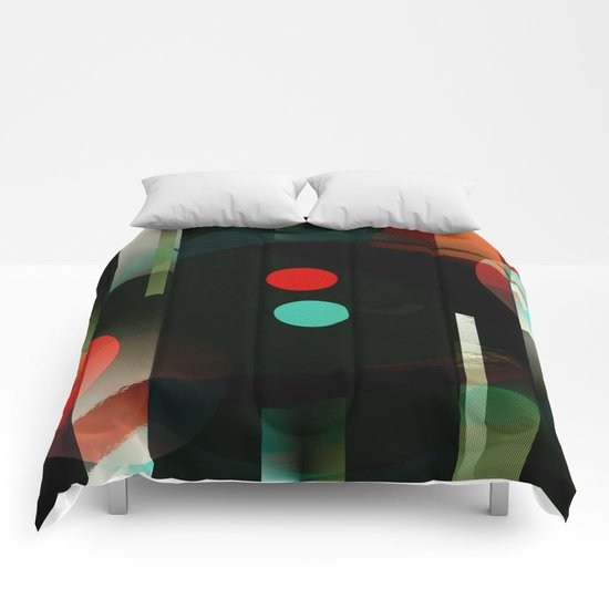 Multicolored abstract no. 62 Comforters