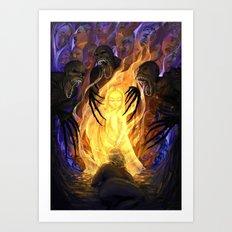 Heir of Fire Art Print