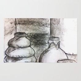 Still Life: Bottles Rug