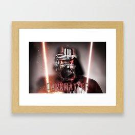 Kylo&Vader redux Framed Art Print