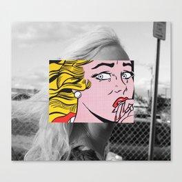 Lichtenstein & Rivas Canvas Print