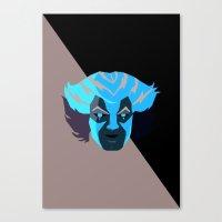 thundercats Canvas Prints featuring Tygra - Thundercats by Camilo