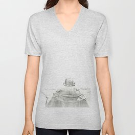 ZEN PLACES (center) Unisex V-Neck