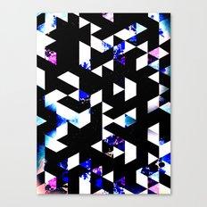 GALATIC RUNWAYS Canvas Print
