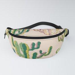 Cactus design print Fanny Pack
