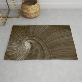 Sand stone spiral staircase 5 Rug