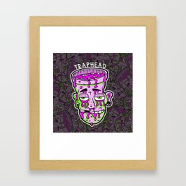 Trap Head Framed Art Print