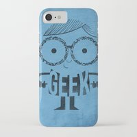geek iPhone & iPod Cases featuring GEEK by Farnell
