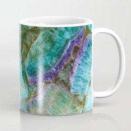 Stone Mosaic Fluorite rock art Coffee Mug