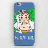 ohana iPhone & iPod Skins featuring Ohana by Jessi's Art