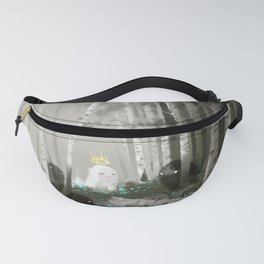 Ghosts Fanny Pack