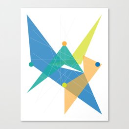 Abstract Rhombus Canvas Print