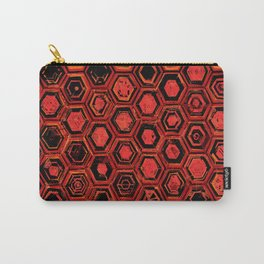 Lava Hex Carry-All Pouch