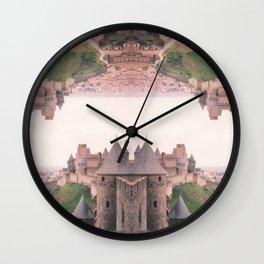 Chateau Photographic Pattern #1 Wall Clock