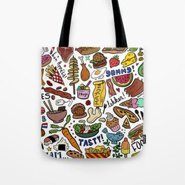 Foodies Tote Bag