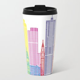 Denver V2 skyline pop Travel Mug