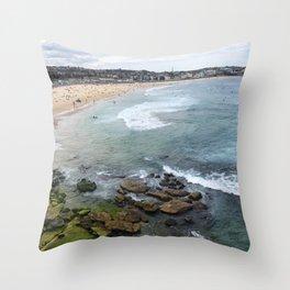 View of Bondi Throw Pillow