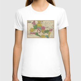 Vintage Map of The Roman Empire (1831) T-shirt