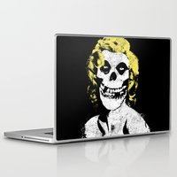 misfits Laptop & iPad Skins featuring Misfits Monroe by AtomicChild