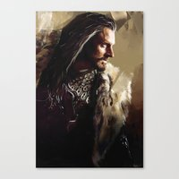 thorin Canvas Prints featuring Thorin by Wisesnail