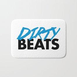 Dirty Beats Rave Quote Bath Mat