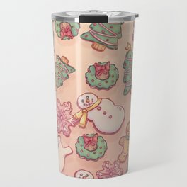 Christmas Cookies Travel Mug