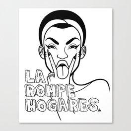 La Rompe Hogares. Canvas Print