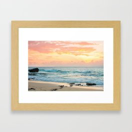 Honolulu Snrse Framed Art Print