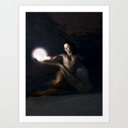 Moon Keeper Art Print