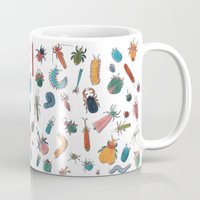 bugs Mugs featuring BUGS by Friederike Ablang