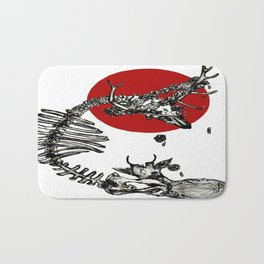 Blood is thicker than water Bath Mat