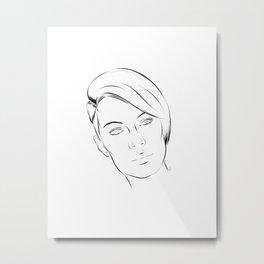 Cora Metal Print