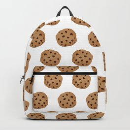 Chocolate Chip Cookies Pattern Backpack