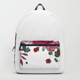 Floral Waterfall Backpack
