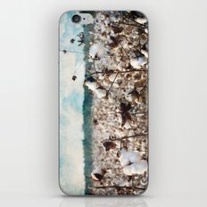 Blue skies and open fields iPhone & iPod Skin